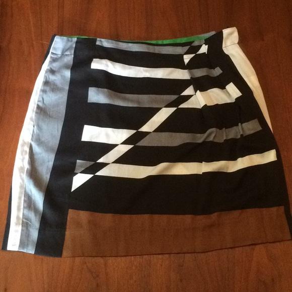 c0d57c0b68 Derek Lam Skirts   Pleated Geometric Pleated Skirt   Poshmark